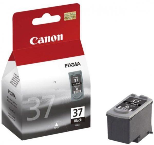 Canon PG 37 črna kartuša ORIGINAL