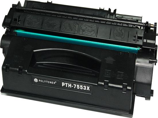 Q7553X čren kompatibilen toner za HP 7.000 strani
