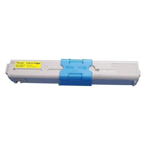 0020798 toner za oki 44973533 c301c321 rumena kompatibilen