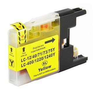 druckerpatrone kompatibel zu brother lc 1220 y lc 1240 y gelb