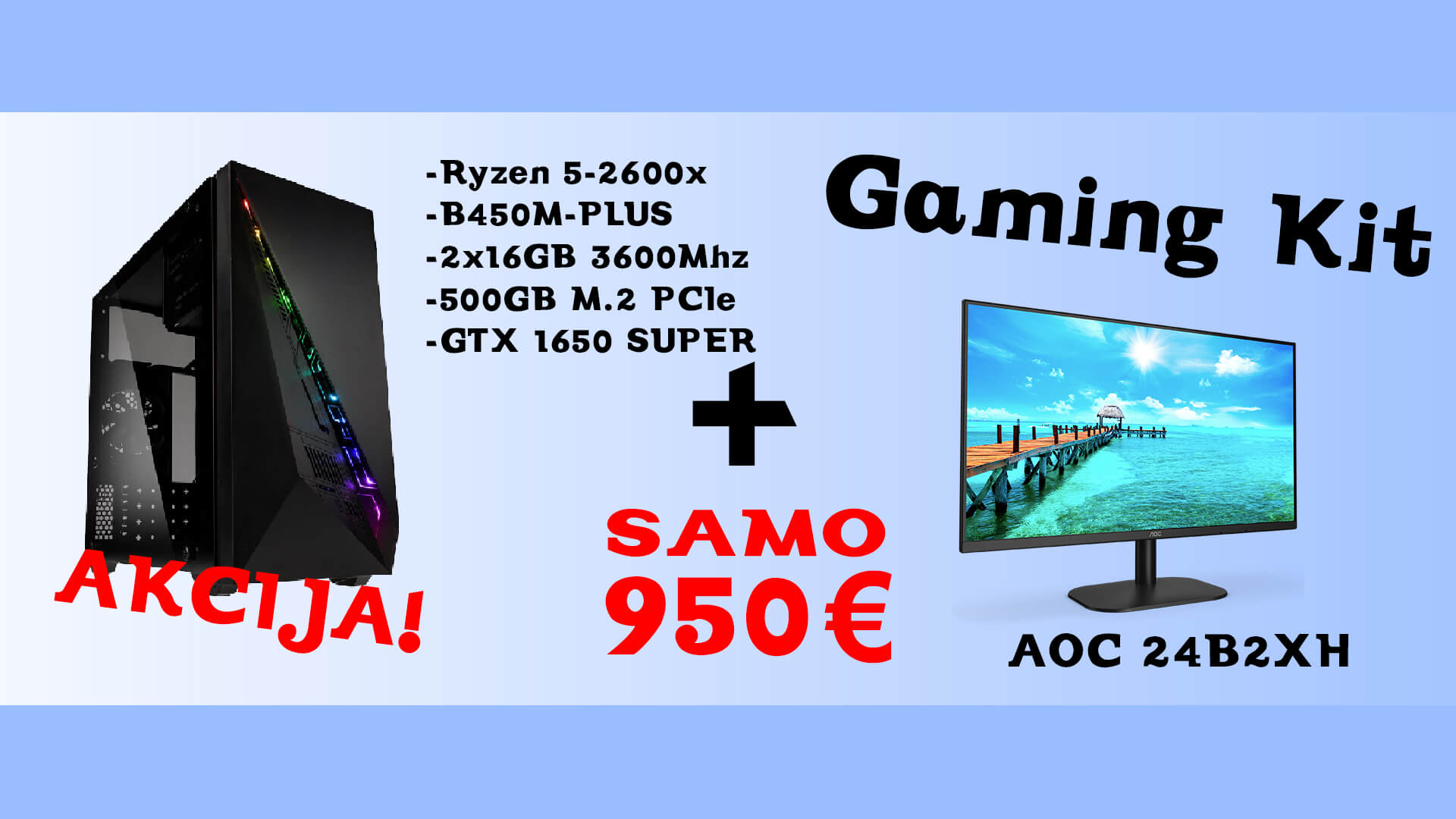 gaming kit akcija