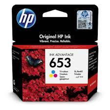 HP 653 color 3YM74AE originalna kartusa za 200 strani