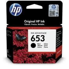HP 653 crna originalna kartusa HP 3YM75AE